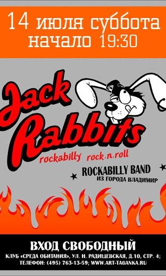 14.07 JACK RABBITS в Среде Обитания